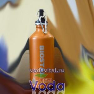 Бутылка для хранения воды из нержавеющей стали  biostal 0.6 литра