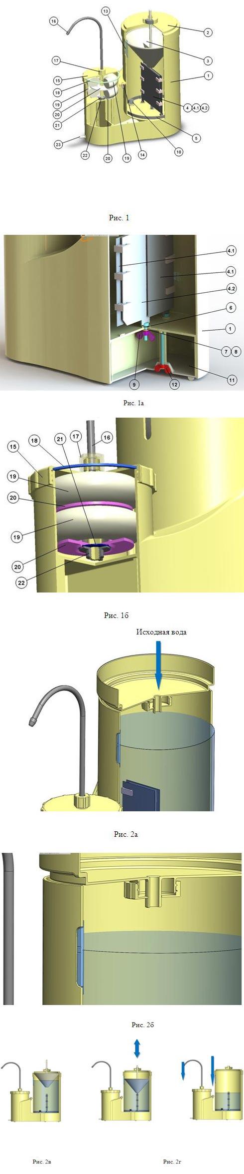 Устройство очистки питьевой воды ПВВК 1 - питьевая вода высокого качества